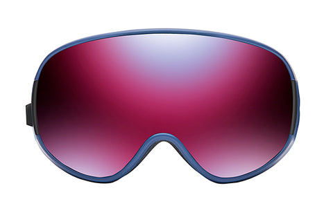 Native - Dropzone Denim Blue Snow Goggles / Blue Mirror Lenses