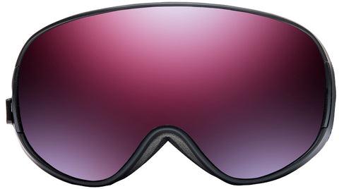 Native - Dropzone Black Mountain Snow Goggles / Blue Mirror Lenses