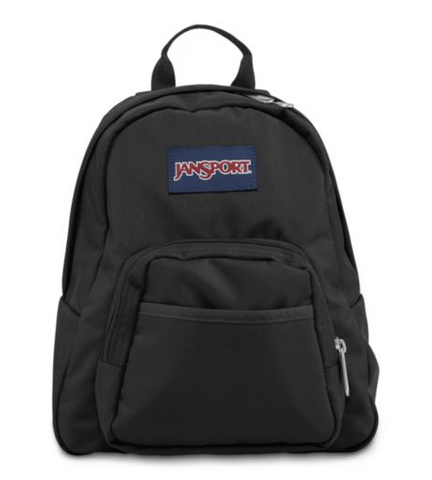 JanSport - Half Pint Black Mini Backpack