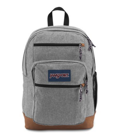 JanSport - Cool Student Grey Letterman Poly Backpack