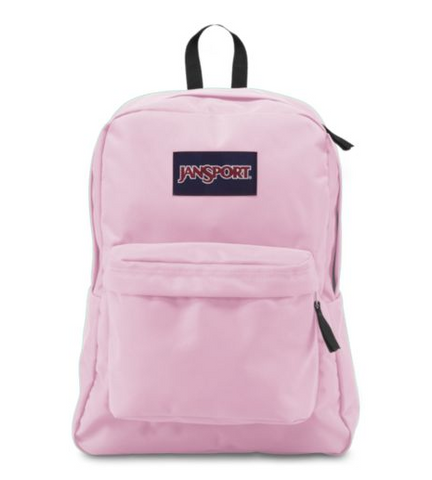 JanSport - Superbreak Pink Mist Backpack