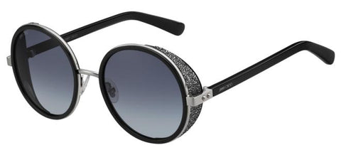 Jimmy Choo - Andie N S Palladium Black Sunglasses / Gray Gradient Lenses