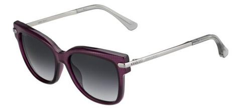 Jimmy Choo - Ara S Violet Palladium Sunglasses / Dark Gray Gradient Lenses