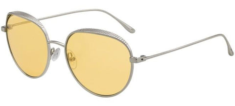Jimmy Choo - Ello S Gold Yellow Sunglasses / Clear Mirror Lenses