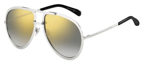 Givenchy - Gv 7113 S Palladium Sunglasses / Light Gray Gold Lenses