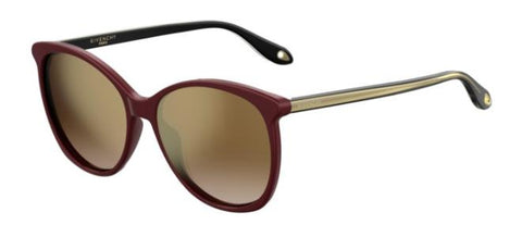 Givenchy - Gv 7095 S Red Sunglasses / Brown Gold Lenses