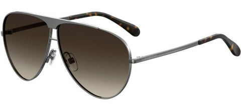 Givenchy - Gv 7128 S Ruthenium Sunglasses / Brown Gradient Lenses