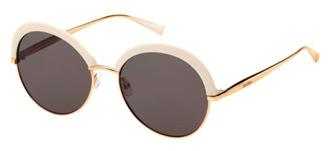 Max Mara - Ilde II Ivory Gold Copper Sunglasses / Mauve Lenses