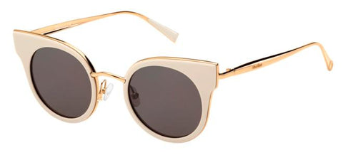Max Mara - Ilde I Ivory Gold Copper Sunglasses / Mauve Lenses