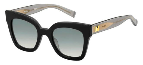 Max Mara - Prism IV Black Dark Gray Sunglasses / Gray Gradient Lenses