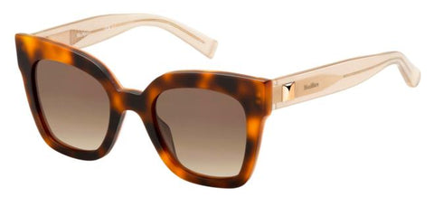 Max Mara - Prism IV Havana Honey Sunglasses / Brown Gradient Lenses