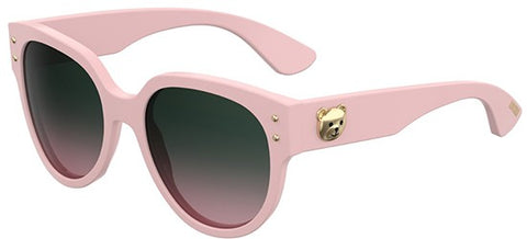 1c7720d0127 Moschino - Mos 013 S Pink Sunglasses   Green Pink Lenses