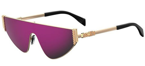 41d234d44a4 Moschino - Mos 022 S Rose Gold Sunglasses   Multipink Lenses