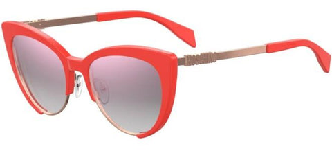 Moschino - Mos 040 S Coral Sunglasses / Multipink Lenses