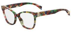 Moschino - Mos 510 Purple Black Multicolor Eyeglasses / Demo Lenses
