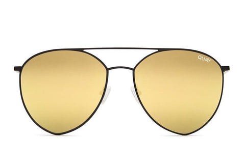 Quay Indio Black / Gold Sunglasses
