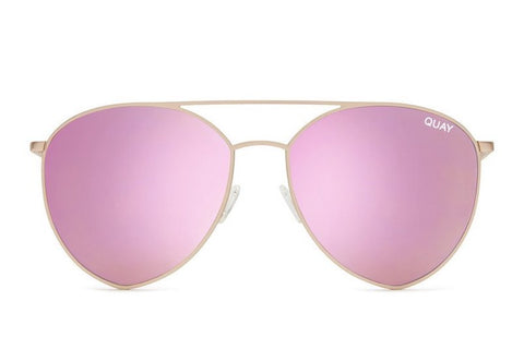 Quay Indio Gold / Pink Sunglasses
