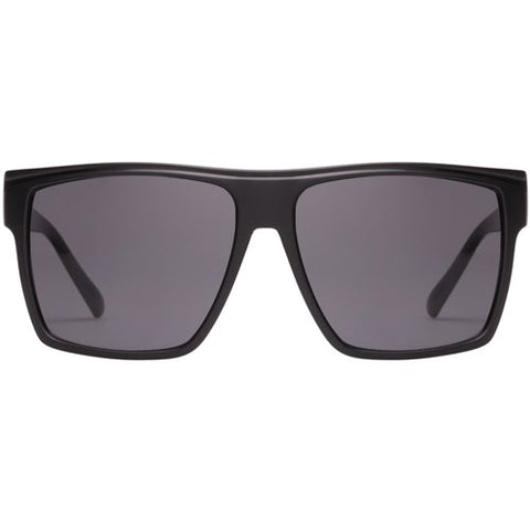 Le Specs - Dirty Magic Matte Black Sunglasses / Smoke  Lenses