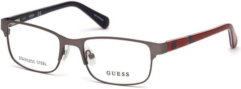 Guess - GU9180 Matte Gunmetal Eyeglasses / Demo Lenses