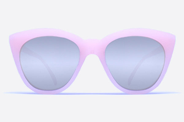 Quay Isabell Pink / Silver Mirror Sunglasses