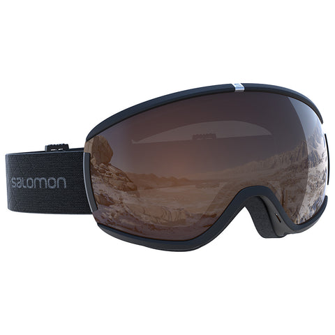 Salomon - Ivy Access Black Snow Goggles / Universal Tonic Orange Lenses