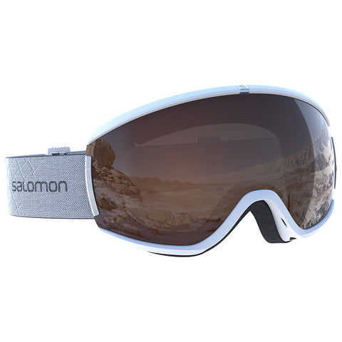 Salomon - Ivy Access White Snow Goggles / Universal Tonic Orange Lenses
