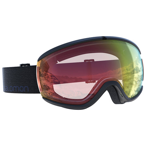Salomon - Ivy Photo Black Snow Goggles / Photo Red Lenses
