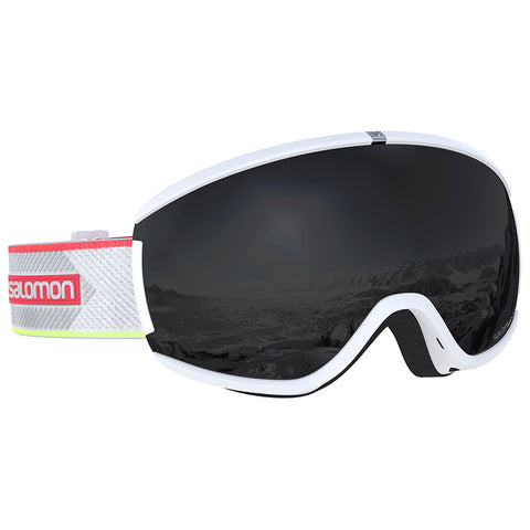 Salomon - Ivy White Coral Snow Goggles / Solar Black Lenses