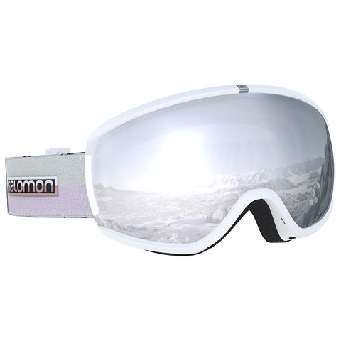 Salomon - Ivy White Flower Snow Goggles / Universal Super White Lenses
