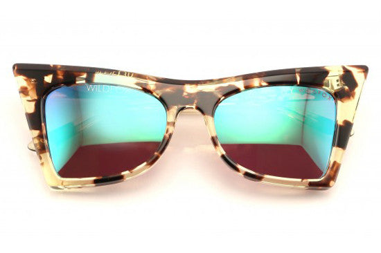 Wildfox - Ivy Deluxe Amber Tortoise Sunglasses