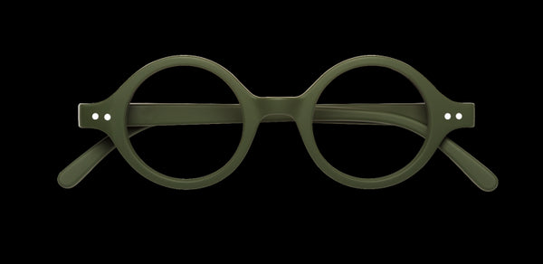 Izipizi - #J Khaki Green Reader Eyeglasses / +1.00 Lenses