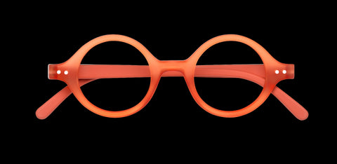 Izipizi - #J Warm Orange Reader Eyeglasses / +3.00 Lenses