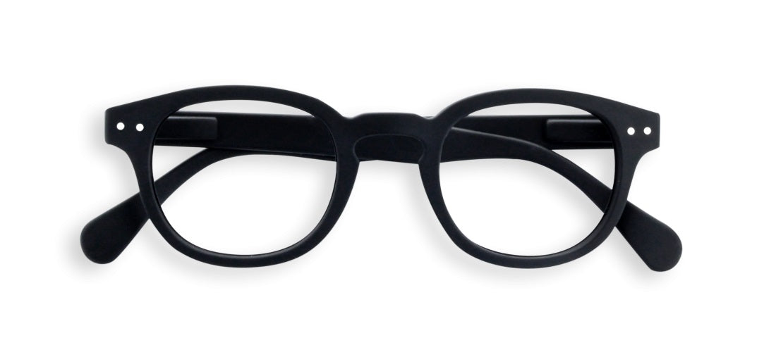 Izipizi - #C Black Reader Eyeglasses / +1.50 Lenses
