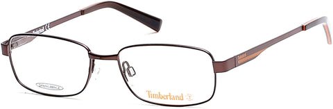 Timberland - TB5064 Matte Dark Brown Eyeglasses / Demo Lenses