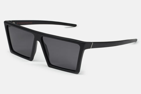 Super - W Black Matte Sunglasses