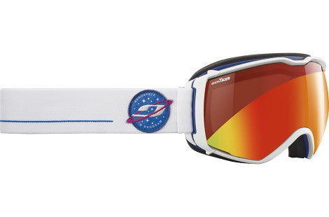 Julbo - Aerospace White / Blue Goggles, Snow Tiger Lenses