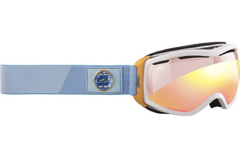 Julbo - Elara White Goggles,  Zebra Light Lenses