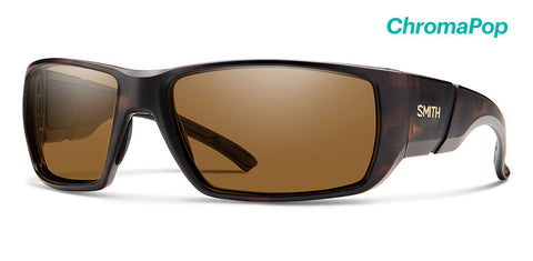 Smith - Transfer Matte Tortoise Sunglasses / ChromaPop Polarized Brown Lenses
