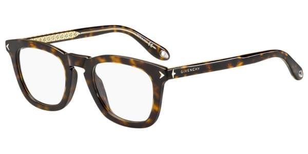 Givenchy - GV 0046 Havana Brown Eyeglasses / Demo Lenses