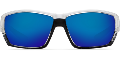 Costa - Tuna Alley Crystal Sunglasses / Blue Polarized Plastic Lenses