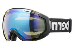 Bern - Jackson Black / Dark Grey Goggles, Yellow Blue Light Mirror Lenses
