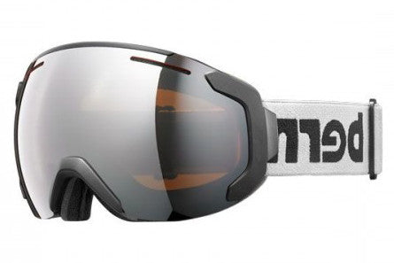 Bern - Jackson Grey / Black Goggles, Orange Light Mirror Lenses