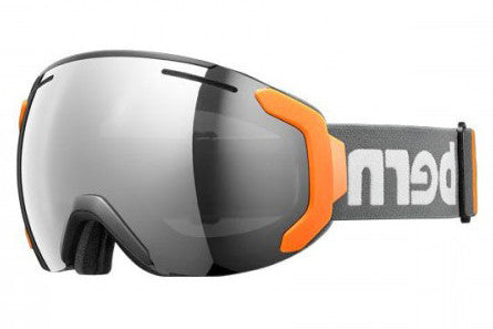 Bern - Jackson Grey / Orange Goggles, Grey Light Mirror Lenses