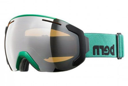 Bern - Jackson Hunter Green Goggles, Gold Light Mirror Lenses