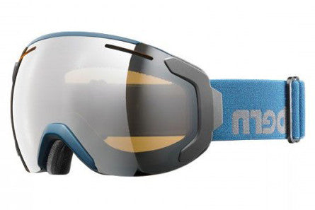 Bern - Jackson Muted Teal Goggles, Gold Light Mirror Lenses