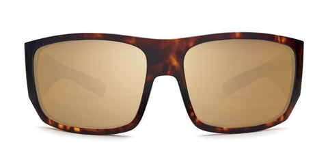 Kaenon - Malaga Matte Tortoise Sunglasses / B12 Brown Gold Mirror Lenses