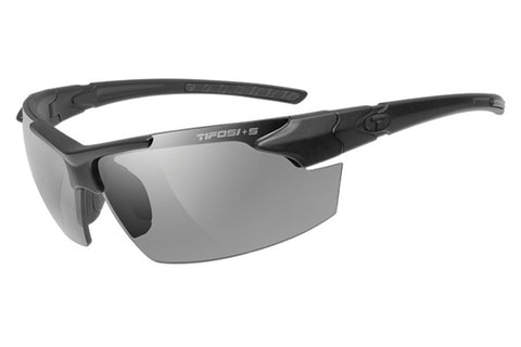Tifosi - Jet FC Tactical Matte Black Sunglasses, Clear / HC Red / Smoke Lenses