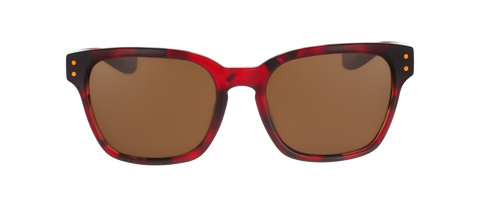 Nike - Volano EV0877 Team Red  Sunglasses / Brown Lenses