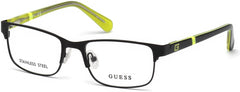 Guess - GU9180 Matte Black Eyeglasses / Demo Lenses
