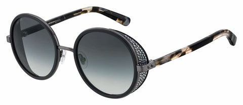 Jimmy Choo - Andie N S Black Sunglasses / Dark Gray Gradient Lenses
